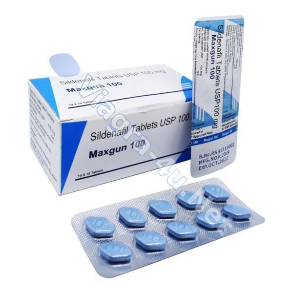 Generic Viagra (Sildenafil) Maxgun 100mg
